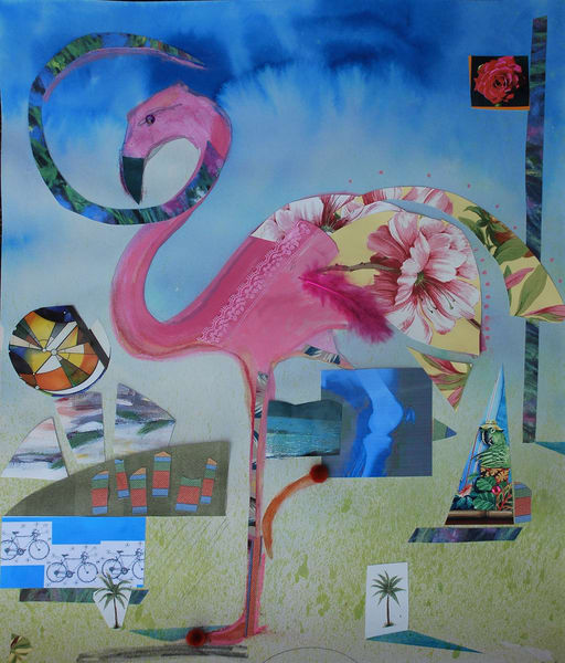 Flamingo Art | All Together Art, Inc Jane Runyeon Works of Art