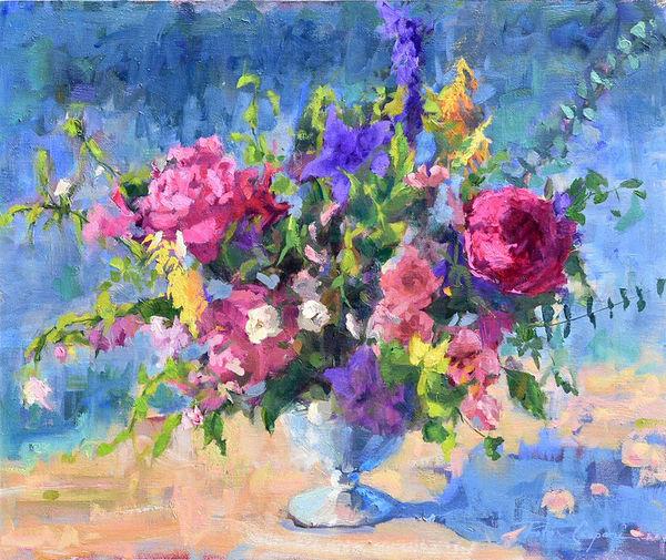 The Flower Field Art | robincaspari