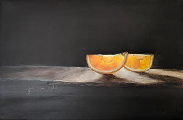 Slice Of Orange Art | John Davis Held, LLC