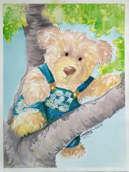 Teddy Tree Art | keithpiccolo