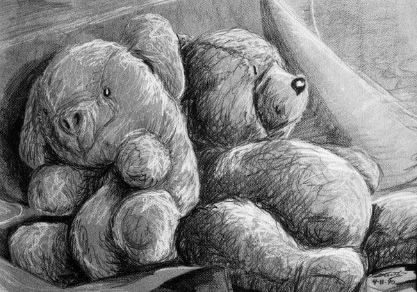 Bear'n Pig Still Art | keithpiccolo