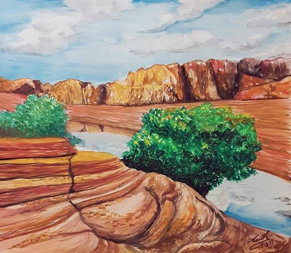 Pastoral Desert 1 Art | keithpiccolo