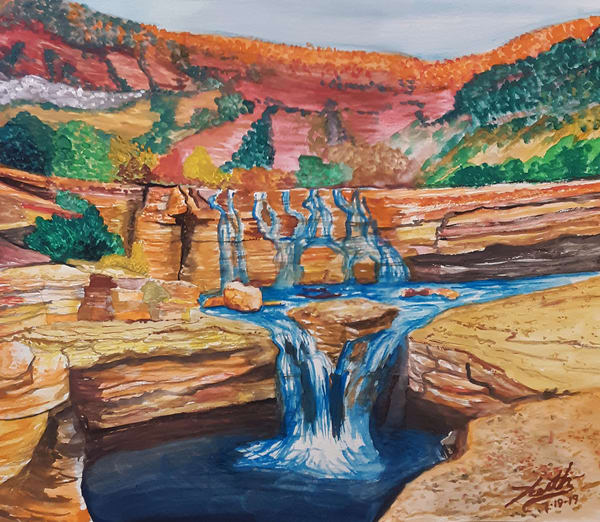 Pastoral Desert 2 Art | keithpiccolo
