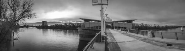 Sacramento River Intake Facility Art | Patrick Cosgrove Art and Photography