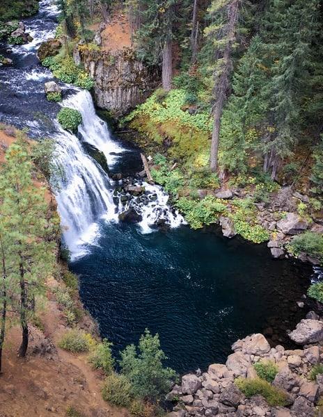 Above Mc Cloud River Middle Falls Art | Patrick Cosgrove Art and Photography