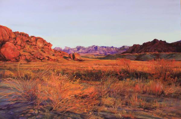 Lindy Cook Severns Art | Colors of A Texas Sunset, enhanced print