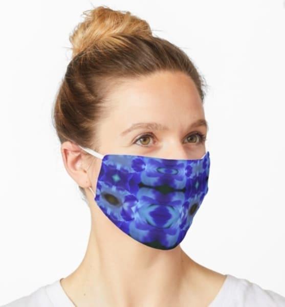 Petal Plaid Mask  | Marci Brockmann Author & Artist