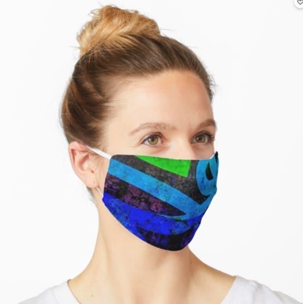Abstract Bold Mask | Marci Brockmann Author & Artist