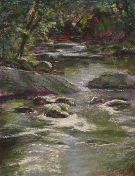 Kay Ridge - original artwork - nature - trees - creek - Wild Cat Creek