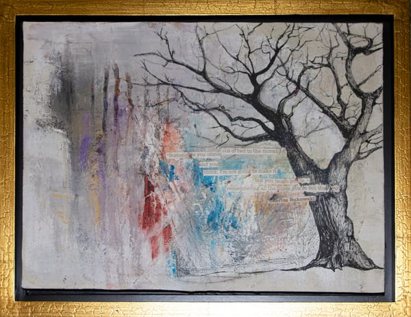 Give Me Your Words : : Untitled 15 Art | stephanie visser fine art