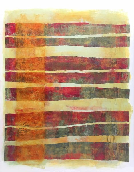 Chroma Bands - Original Abstract Painting | Cynthia Coldren Fine Art