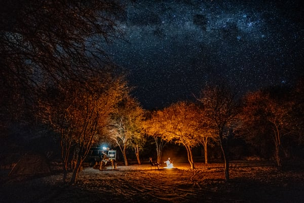 Camp In The Kalahari Photography Art | Tolowa Gallery