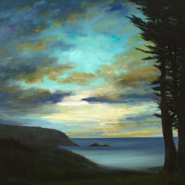 Pacifica Sunset by Sheila Finch