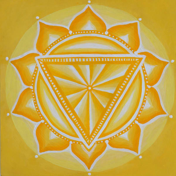 Solar Plexus Chakra Art | Monique Cudbertson Art
