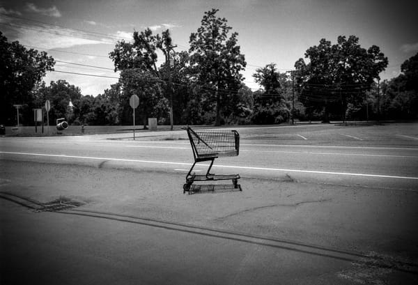 Lonely Cart Photography Art | gary giles photographs