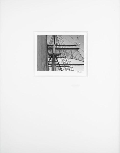 Staysail And Main Topsail   Artist's Maritime Miniature Print   Museum Mat Photography Art | Mark Roger Bailey | Fine Art Photography