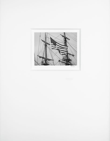 Stars And Stripes   Artist's Maritime Miniature Print   Museum Mat Photography Art | Mark Roger Bailey | Fine Art Photography