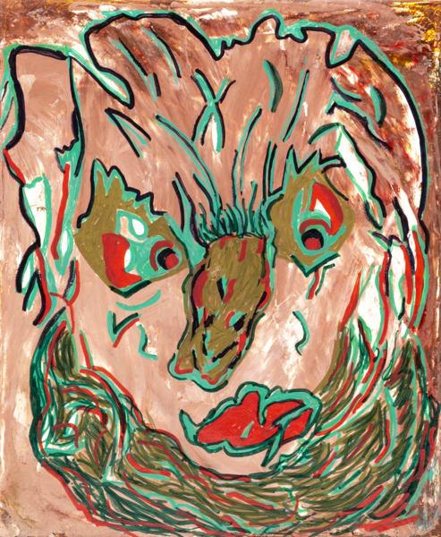Mr Monster painting