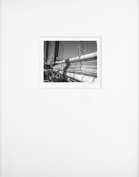 Flaked Main Gaff Sail   Artist's Maritime Miniature Print   Museum Mat Photography Art | Mark Roger Bailey | Fine Art Photography
