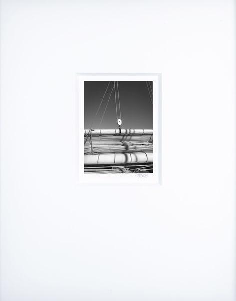Main Gaff Spar And Boom   Artist's Maritime Miniature Print   Museum Mat Photography Art | Mark Roger Bailey | Fine Art Photography