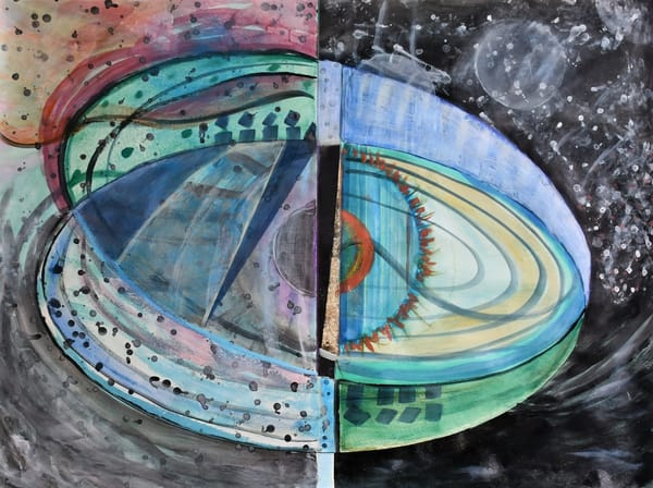 The Fragile World Iv: Eye Of The Storm Art | All Together Art, Inc Jane Runyeon Works of Art