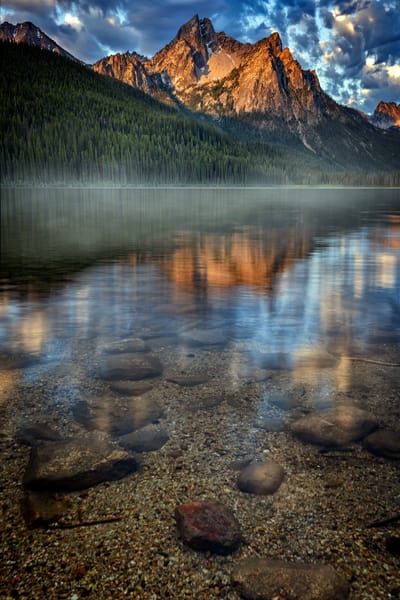 Morning Mist in the Sawtooths | Shop Photography by Rick Berk