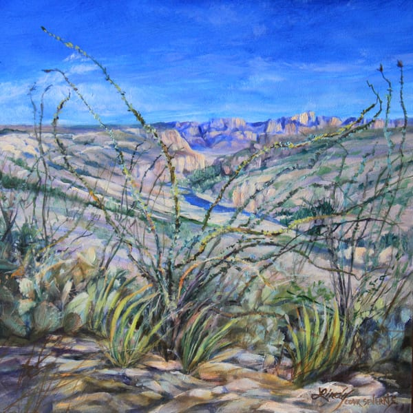 Lindy Cook Severns Art | Follow the River, print