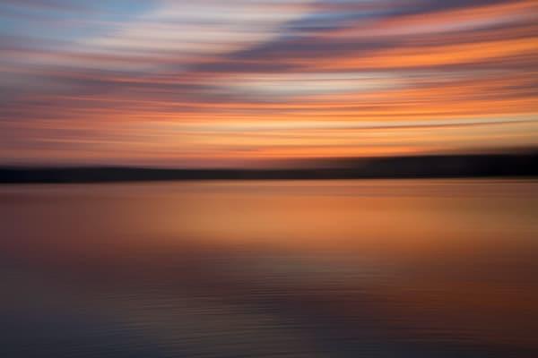 Smooth Sunset Photography Art | Willard R Smith Photography