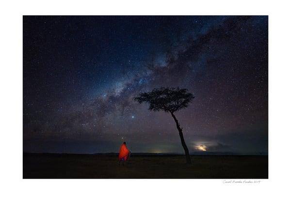 Milky Way Over The Maasai Mara   Signed 2019 Photography Art | Carol Brooks Parker Fine Art Photography