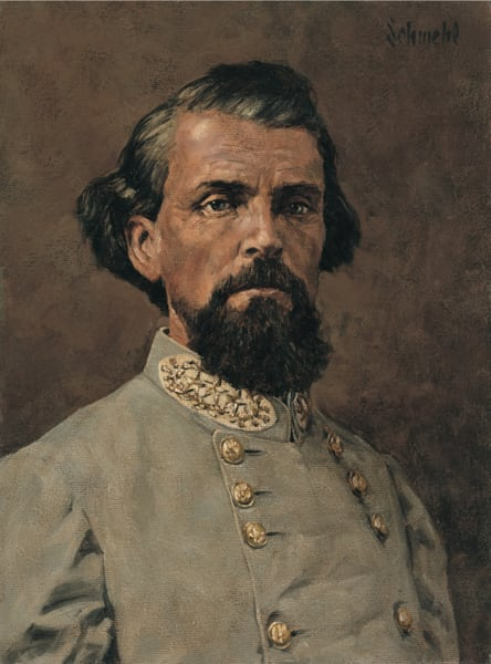 Nathan Bedford Forrest Art   Bradley Schmehl Fine Arts