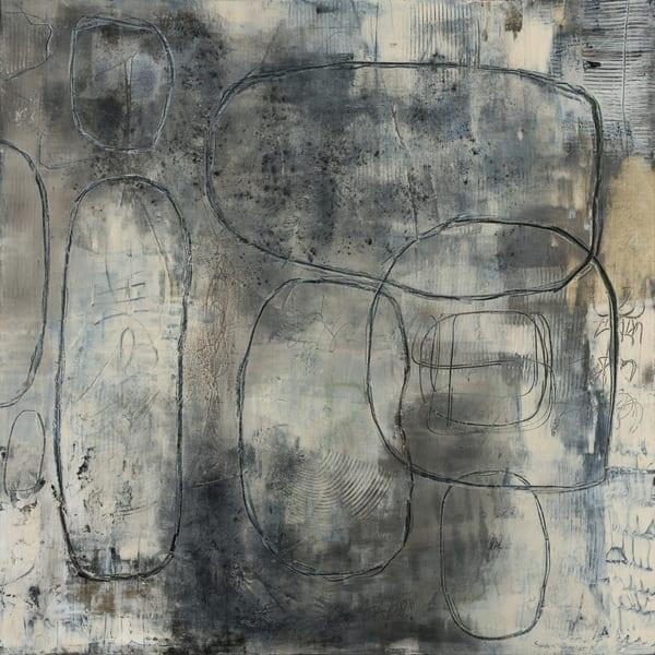 Walking With The Moon No 6 Art | Sondra Wampler | fine art
