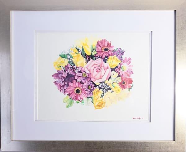 Inspired Birth Bouquet Original Painting Art | Creative Spirit Studios
