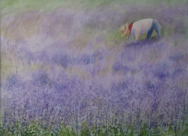 Harvesting Lavender Art | East End Arts