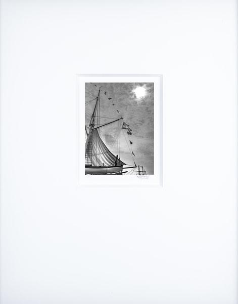 Stormlight On Mizzen   Artist's Maritime Miniature Print   Museum Mat Photography Art | Mark Roger Bailey | Fine Art Photography
