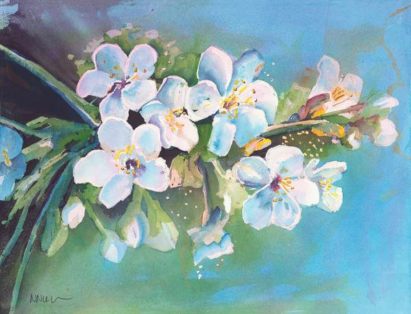 First Blossom  Art | Nikki Nienhuis