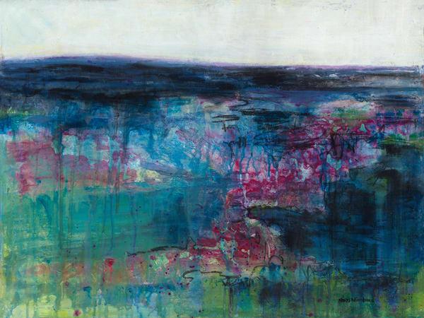 Bear Blue Arise  Art | Nikki Nienhuis