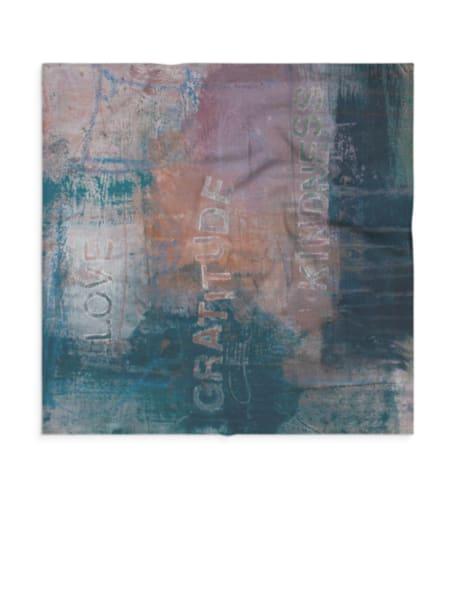 Small Scarf : Kindness  | Stephanie Visser Fine Art