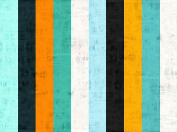 Bold stripes art, stripes art, modern art prints, bold stripes abstract art Bold Stripes abstract art Canvas Print,