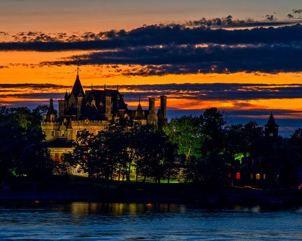 Boldt Castle Sunset - St. Lawrence River fine-art photography prints
