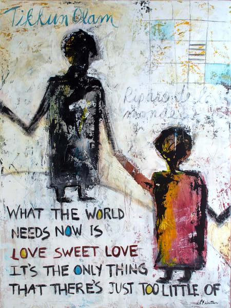 Tikkun Olam | Repair The World Art | Southern Heart Studio, LLC