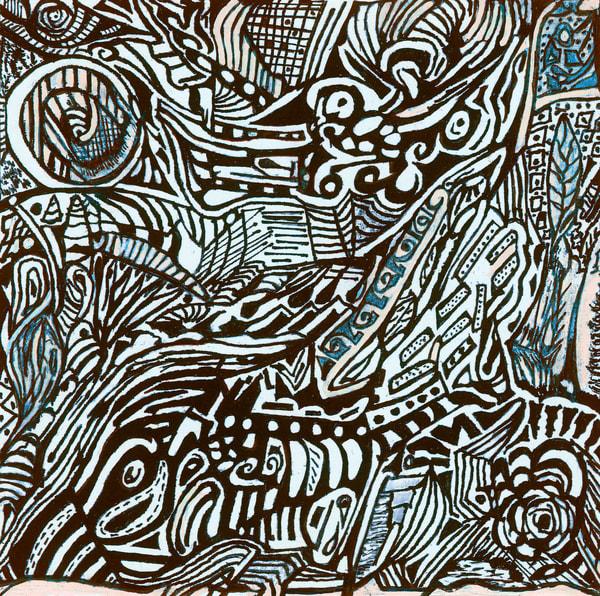 Blues Scale Series  #33 Art | Aldo Borromei
