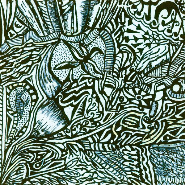 Blues Scale Series  #37 Art | Aldo Borromei