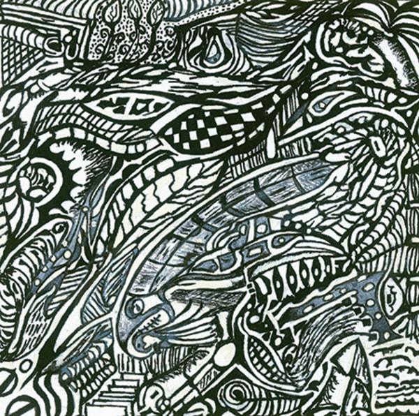 Blues Scale Series  #43 Art | Aldo Borromei