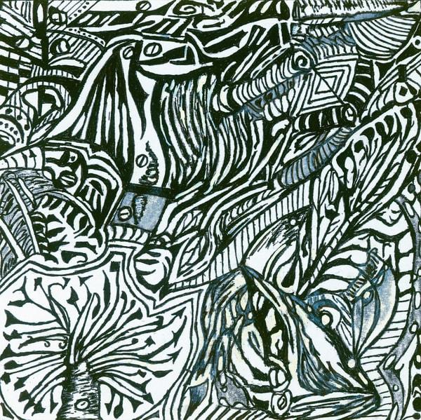 Blues Scale Series  #41 Art | Aldo Borromei