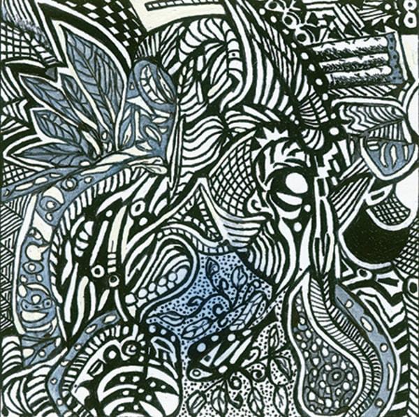 Blues Scale Series  #49 Art | Aldo Borromei