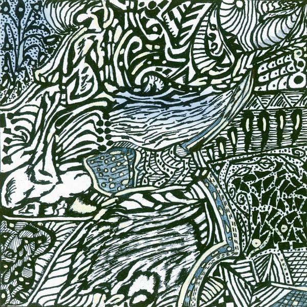 Blues Scale Series  #45 Art | Aldo Borromei