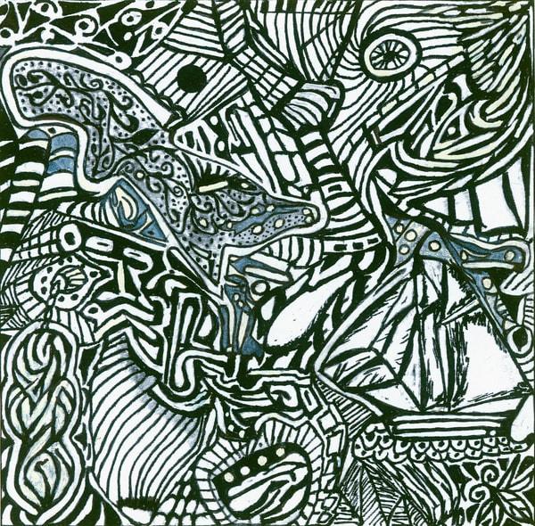 Blues Scale Series  #47 Art | Aldo Borromei
