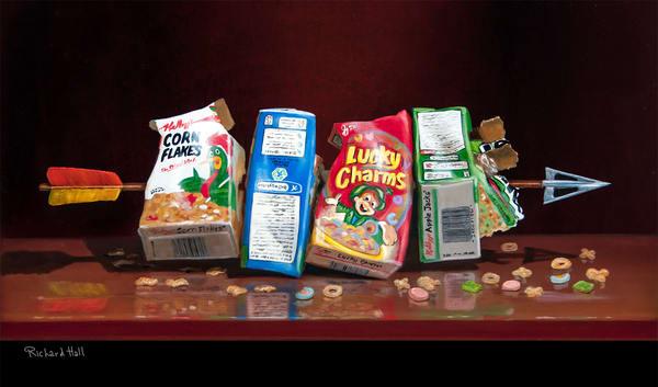 Cereal Killer 2 Art | Richard Hall Fine Art