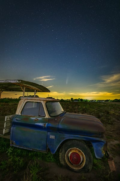 Chevy Comet Photography Art | Teaga Photo