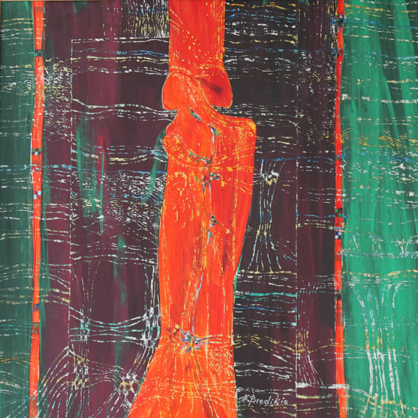 In The Loop , Original Acrylic Painting